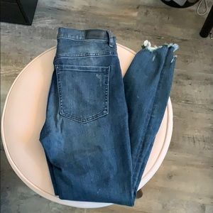Express distressed jeans
